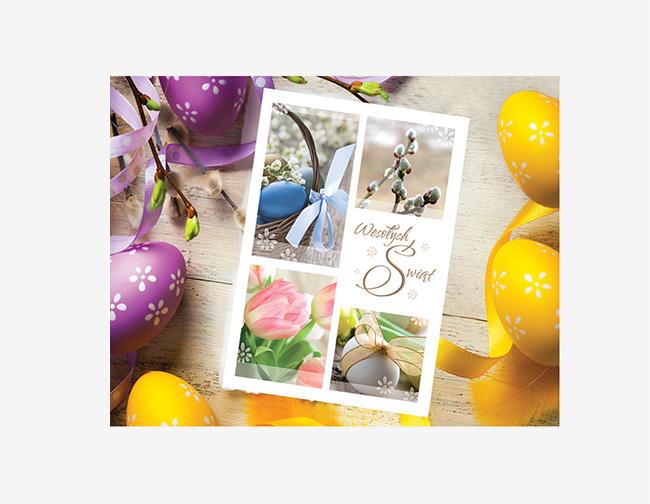 Unikalne Kartki noworoczne, świąteczne dla firm z logo | Firmowe kartki AE48