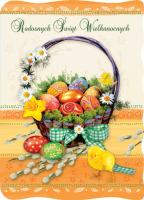 Kartka na Wielkanoc BW 25