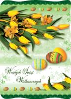 Wielkanocny bukiet kwiatów BW 28