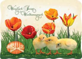 Życzenia Wielkanocne BW 36