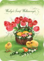 Wiosenna Kartka Wielkanocna BW 37
