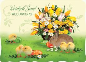 Karnet Wielkanocny BW 39