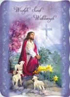Kartka Wielkanocna Pan Jezus w Ogrójcu BRW 03