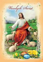Kartka na Wielkanoc religijna BRW 04