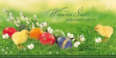 Kartki biznesowe na Wielkanoc LZW 12