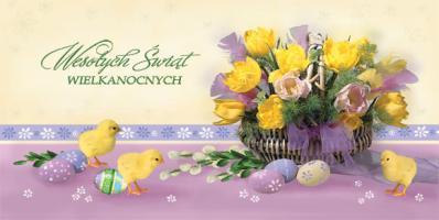 Firmowa Kartka Wielkanocna LZW 15