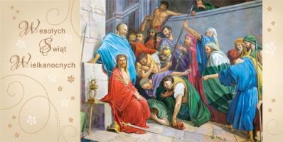 Kartki Wielkanocne religijne LRW 18