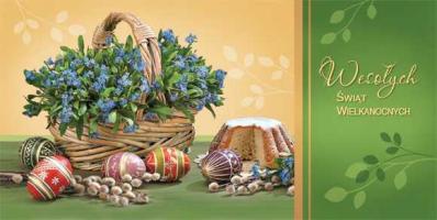 Kartki świąteczne na Wielkanoc LZW 25