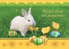 Fundacyjna Kartka Wielkanocna wesoła GDW 05