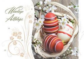 Karnety Wielkanocne z pisankami GDW 10