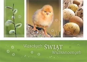 Kartki na Wielkanoc GDW 14