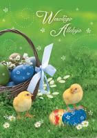 Kartki na Wielkanoc dobroczynne GDW 18