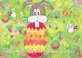 Dobroczynna Kartka Wielkanocna GW 14